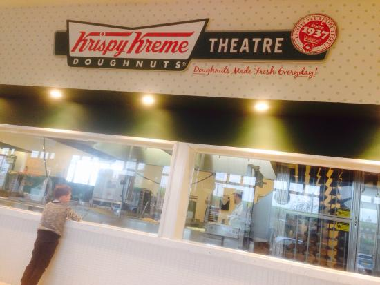 Krispy Kreme Doughnuts: Krispy Kreme Theatre: Watch the making of Donuts here!