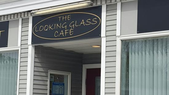 The Looking Glass Cafe: Signage