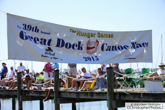 Great Dock Canoe Race