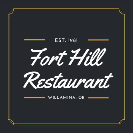 ‪‪Willamina‬, ‪Oregon‬: Fort Hill Restaurant‬
