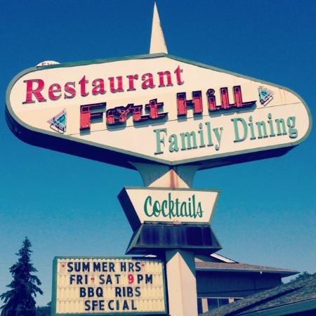 Willamina, Oregón: Fort Hill Restaurant