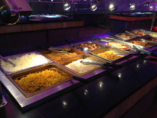 Hy Buffet Chinese Restaurant Rice Potato And Noodle Options