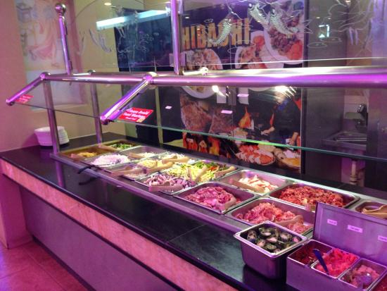 Hy Buffet Chinese Restaurant Mongolian Barbecue Options