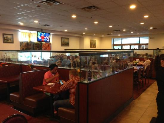 Hy Buffet Chinese Restaurant Plenty Of Seating Easy Access To Food Bars