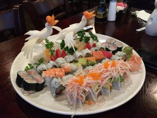 Daimaru Steakhouse Sushi Plate