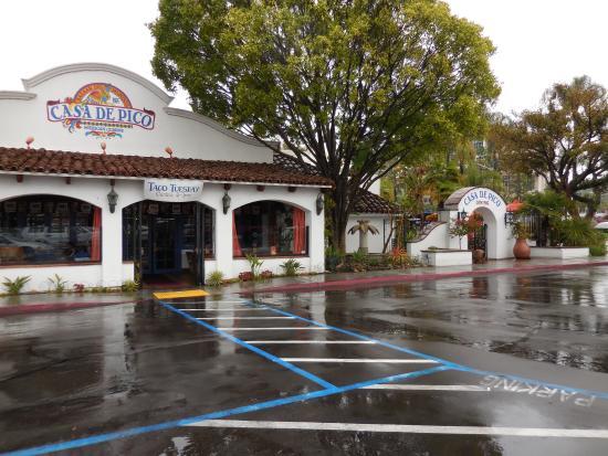 Casa De Pico: Front of restaurant