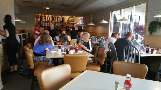 Tonys Restaurant Dining Area At Tony S