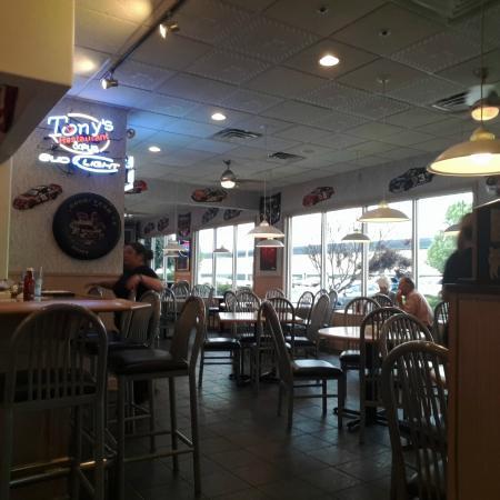 Tonys Restaurant Seating Area At Tony S
