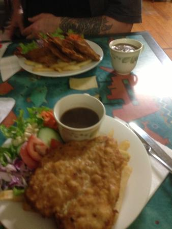 Peeramon, Australia: Our meals