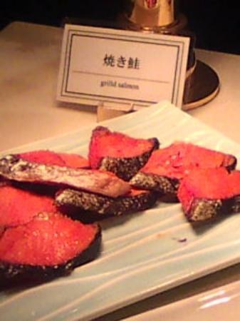 Hotel Associa Shizuoka : 朝食のシャケです