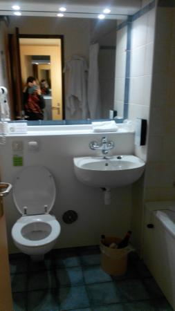 Hotel Campanile Zwolle: ванная