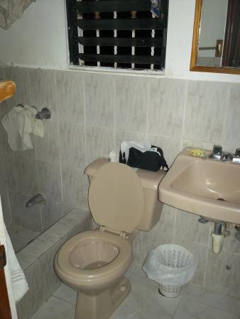 Hotel Bahia View: Washroom