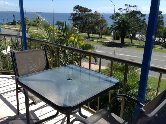 Headland Tropicana Resort : view from living room