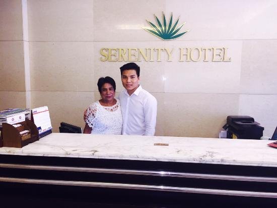 Hanoi Serenity Hotel : Brilliant welcome .. Very helpful, courteous staff .. Specially the manager called Steve... Must