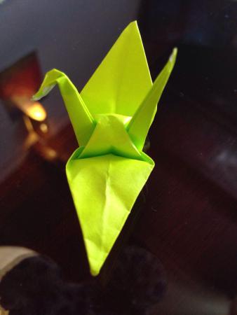 Origami Chop Stick Holder Picture Of Samurai Kitchen Hoi An