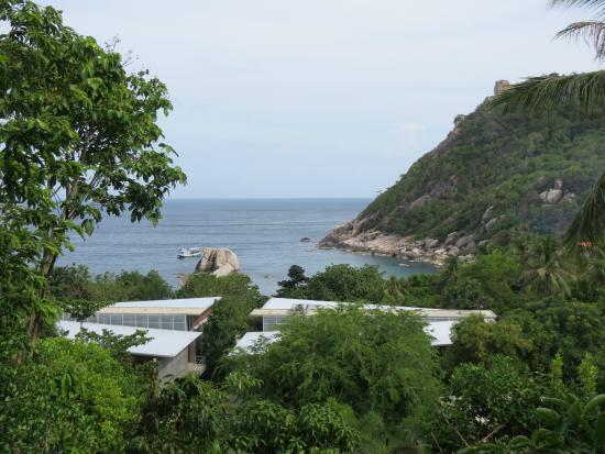 Montalay Beach Resort: вид с балкона