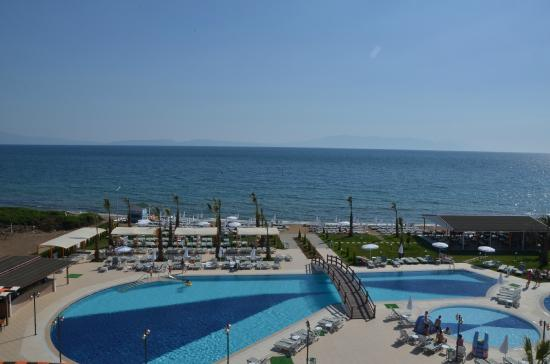 Ozdere, Turkey: FROM THE ROOM