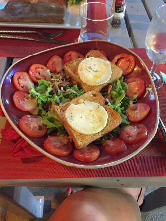 la crêperie de samui : Salade chèvre