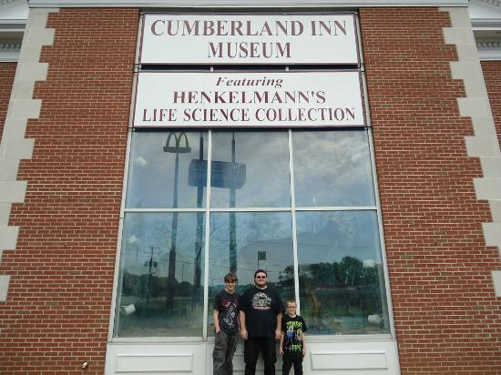 Cumberland Museum: Kids enjoyed it... Attached to the Cumberland Inn