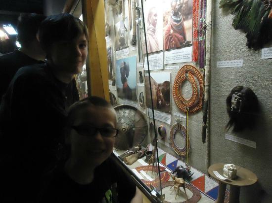 Cumberland Museum: Cultural exhibits