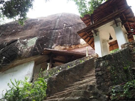 Peradeniya, Σρι Λάνκα: Возле храма
