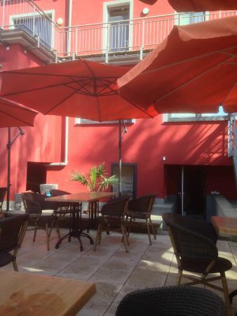 Hosteria Gusto: La terrasse
