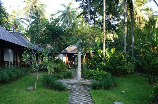 Bali au Naturel: Bungalow Area