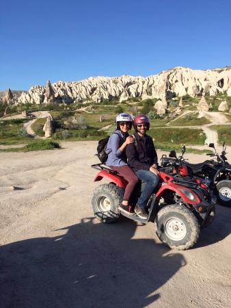 Cappadocia Adventure- Day Tours: Together on the bikes for a photo