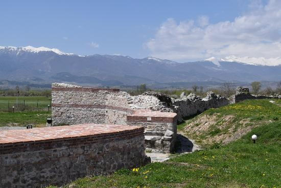 The ruins of the ancient city of Nikopolis ad Nestum ...