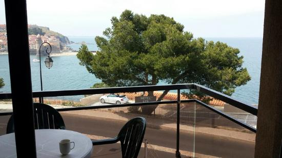 Pierre et Vacances Residence Les Balcons de Collioure : Vue terrasse