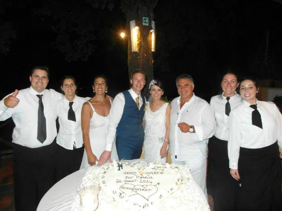 Our Amazing Wedding Day with Don Pedro & Family!
