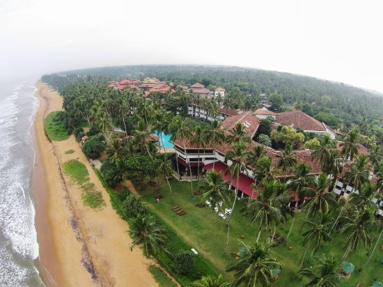Tangerine Beach Hotel: An Arial View of the Hotel
