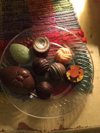 Murski Homestead B&B: Artisans chocolate locally made