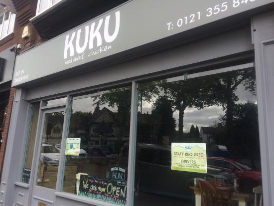 Sutton Coldfield, UK: Kuku's