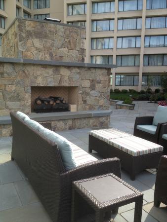 Hanover Marriott: Backyard