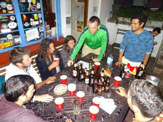 Long Street Backpackers: Making friends