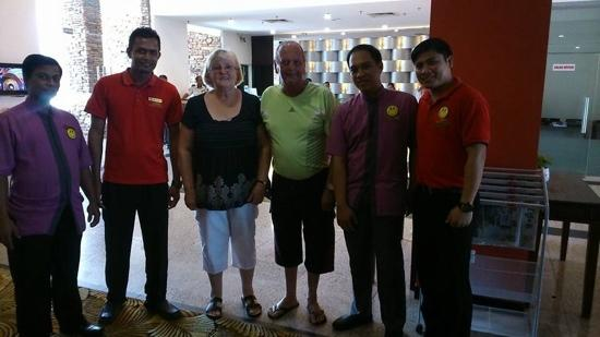 great staff - Picture of Hotel Sentral Seaview, Penang