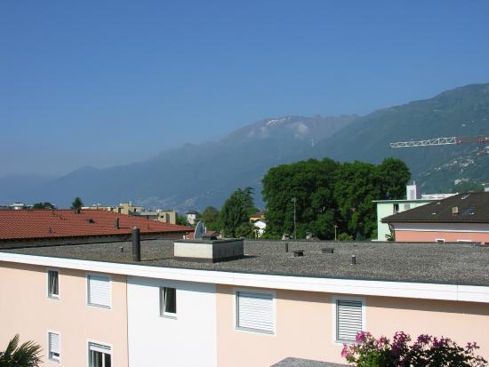 Osteria Ticino: Aussicht vom Zimmerbalkon