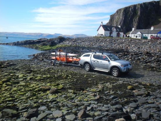 Sea Kayak Scotland: Launch