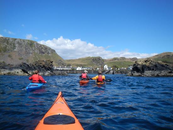 Sea Kayak Scotland: Beautiful day!