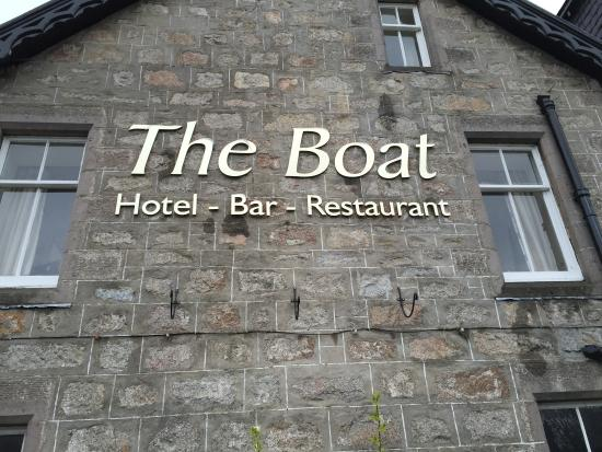 The Boat Hotel Bistro: enjoy your drinks here
