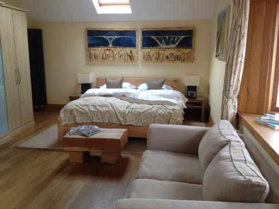 The Kinmel Arms : Our fabulous room