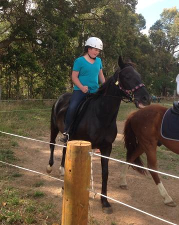 Cowaramup, Australia: A Riding Lesson at The Humble Horse
