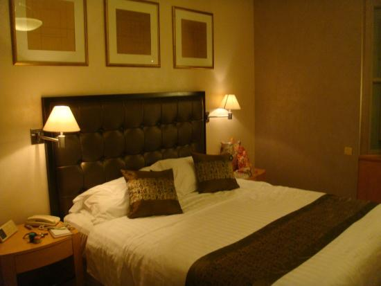 Junhua Haiyi Hotel: Luxurious Comfy Bed For A good Night Sleep