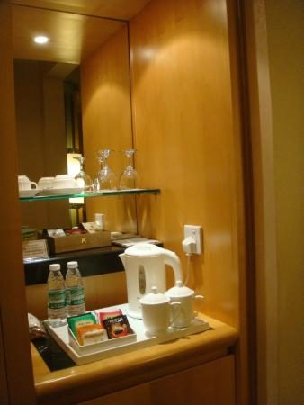 Junhua Haiyi Hotel: Free Hot Beverages Counter