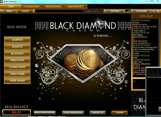 Greektown Casino : RIP OFF!! BLACK DAIMOND CASINO ONLINE! RIP OFF
