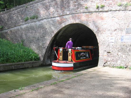 The Canal Museum: south portal of the Blisworth Tunnel