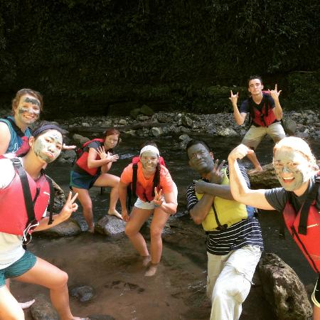 Batey Zipline Adventure: Natural Spa, volcanic rock Clay...