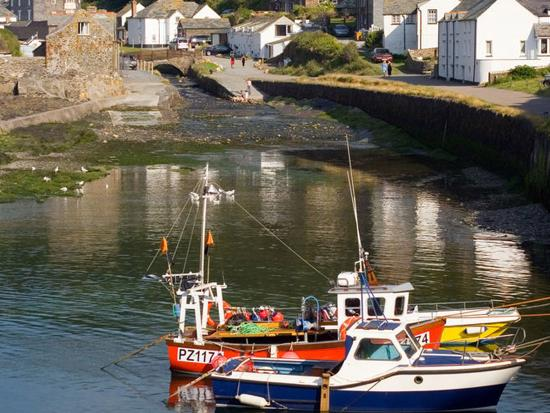 St. Tinney Farm Holidays: Nearby village of Boscastle
