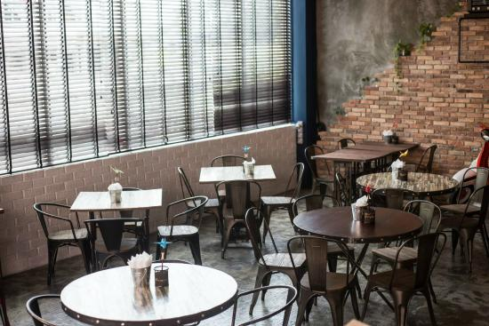 Sukha: Our dining area caters for groups big or small.
